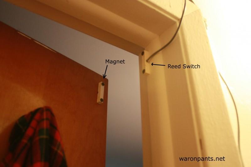 Automatic Door Light War On Pants