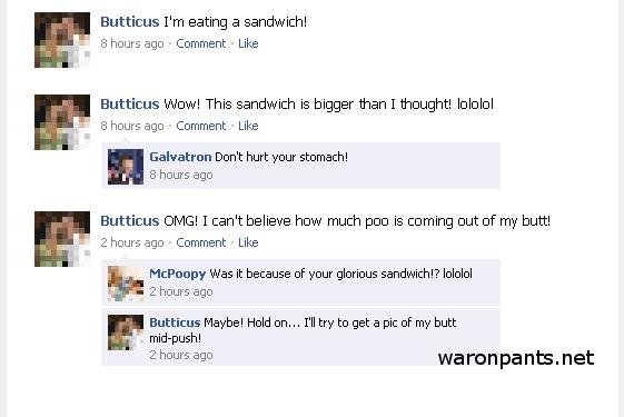 Facebook Sandwich