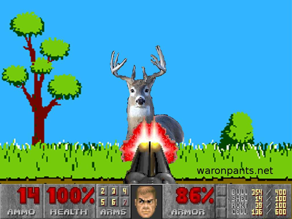 Inhumane Deer Hunting