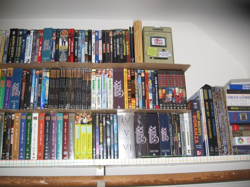 Cardboard Shelf 2