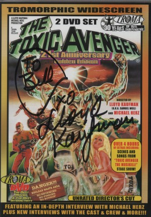 Autographed Toxic Avenger