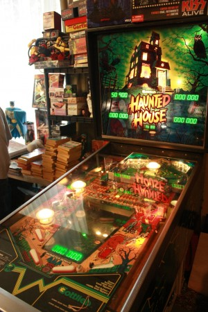 Haunted House Pinball Machine