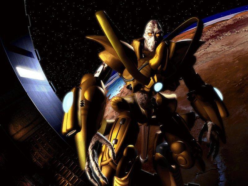Starcraft Zealot