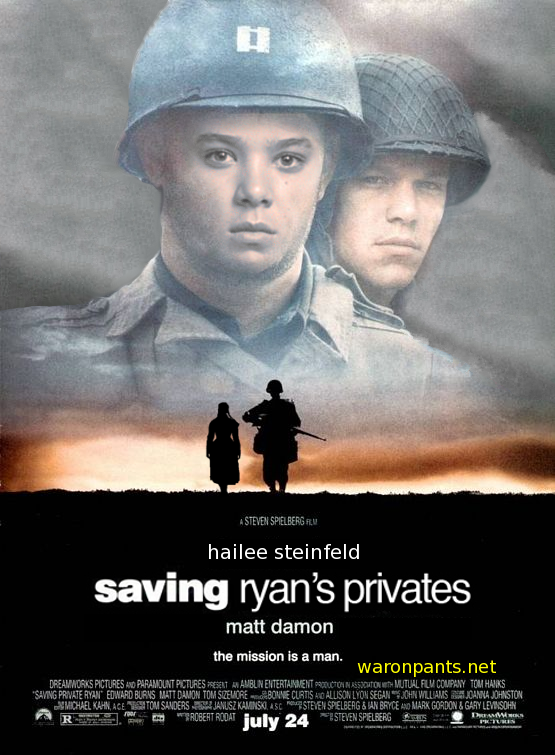 Saving Ryans Privates - Mattie LaBoeuf