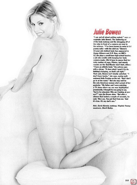 Julie Bowen Naked