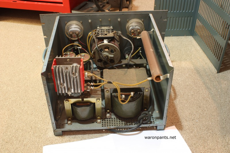 Old Linear Power Supply - Back