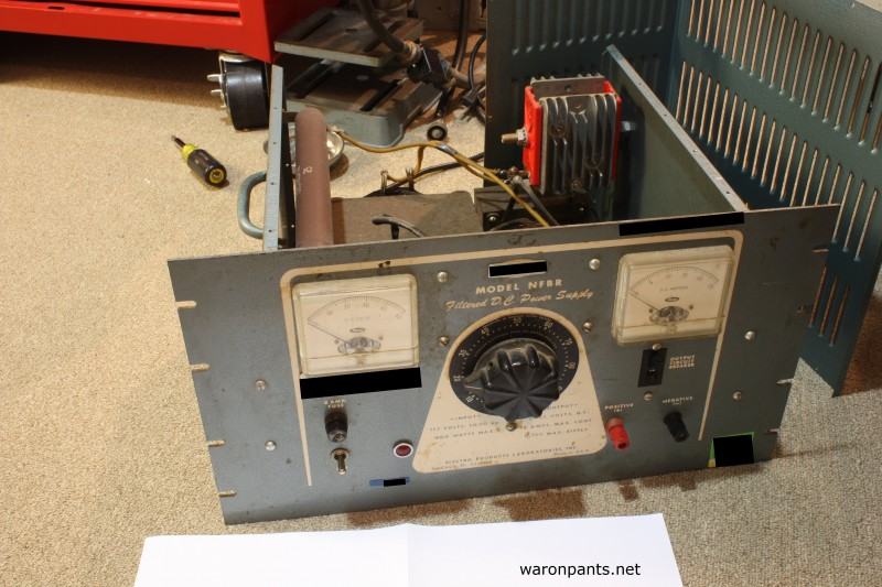 Old Linear Power Supply - Front