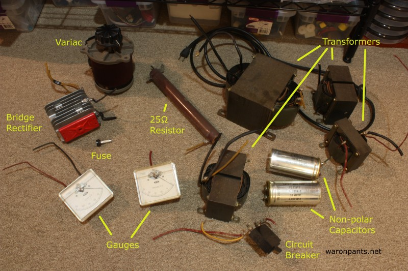 Old Linear Power Supply - Parts
