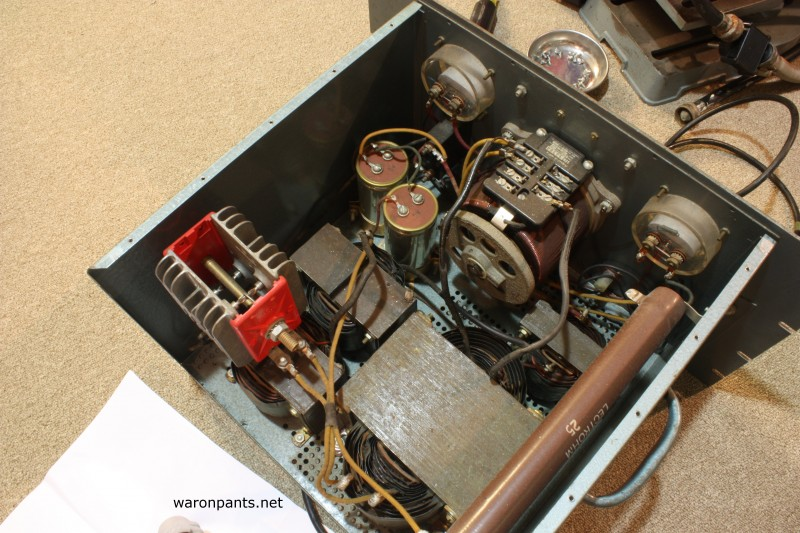 Old Linear Power Supply - Top