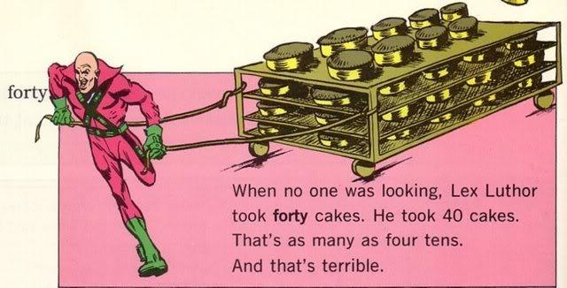 Lex Luthor Stole 40 Cakes