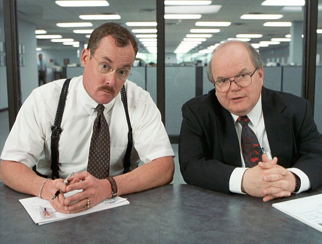 The Two Bobs, Office Space