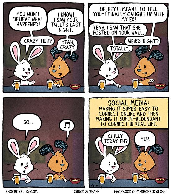 Social Media Redundancy