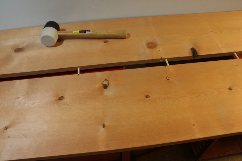 Workbench - Dowel Dry Fit