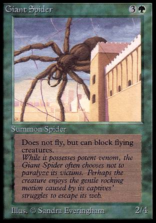 Magic - Giant Spider