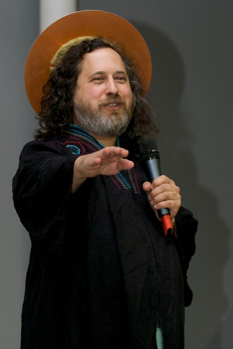 Richard Stallman blesses Neelie Kroes