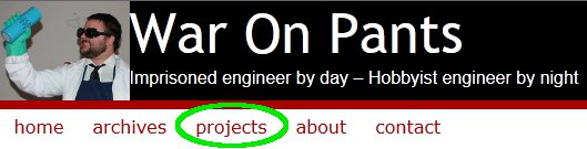 Projects Directory Heading