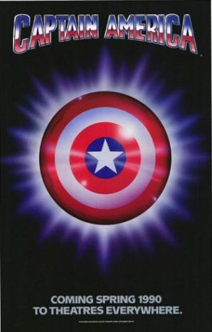 Captain America Movie Poster (1990)