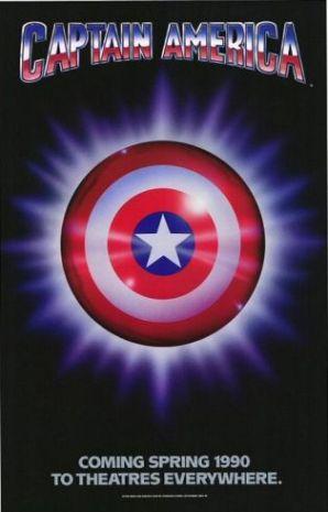 Captain America Movie Poster (1990)