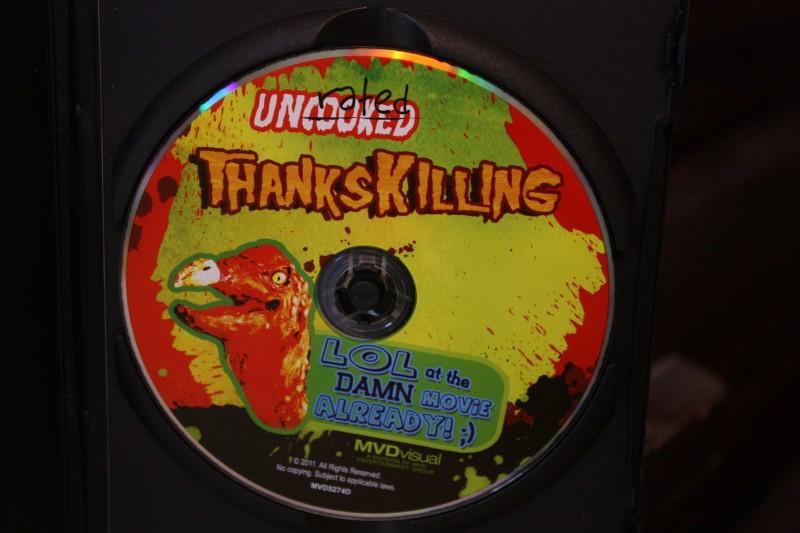 ThanksKilling DVD