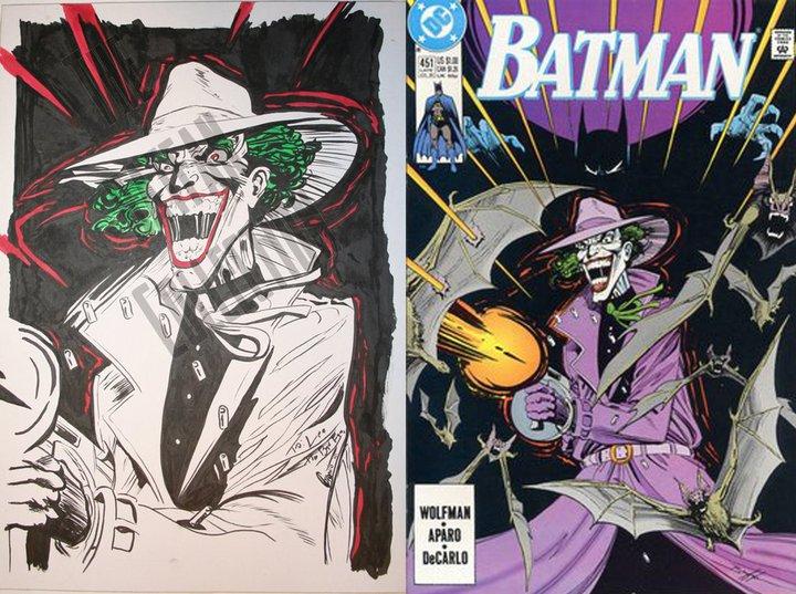 Joker - Granito vs Brayfogle