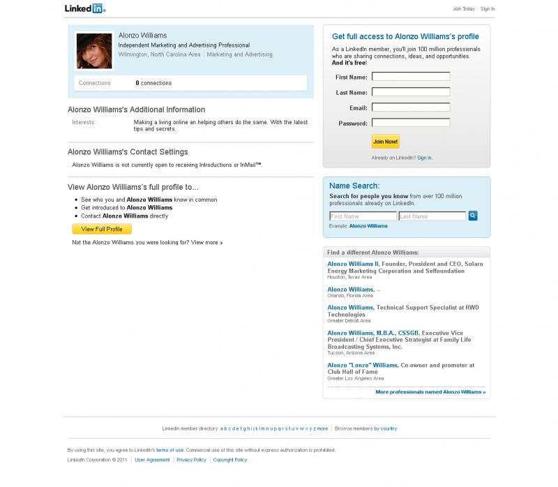 Alonzo Williams - LinkedIn