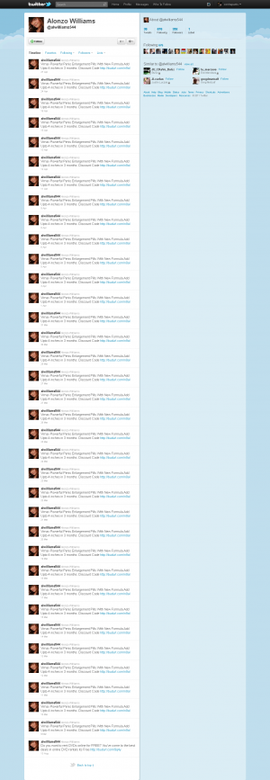 Spam Twitter Account 2
