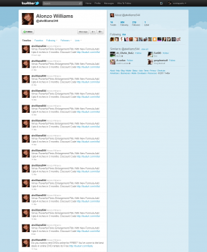 Spam Twitter Account