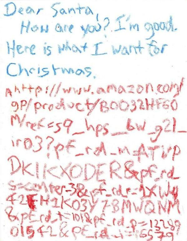 Amazon Christmas list