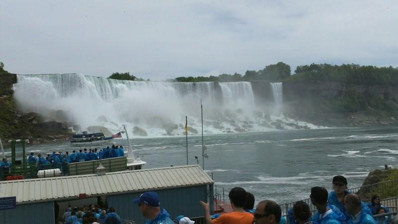 American and Bridal Veil Falls