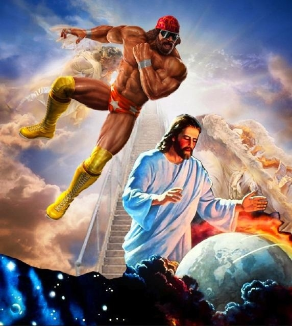 Macho Man Randy Savage vs Jesus