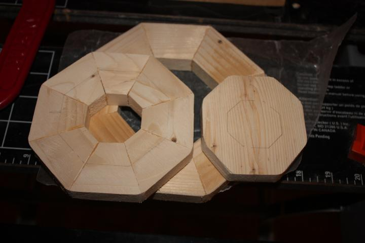 Wooden Cupcake Box 3 - 8