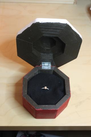 Wooden Cupcake Box 4 - 12