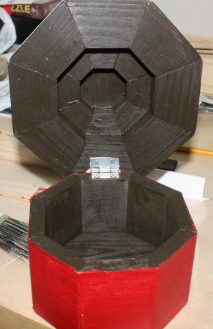 Wooden Cupcake Box 4 - 8