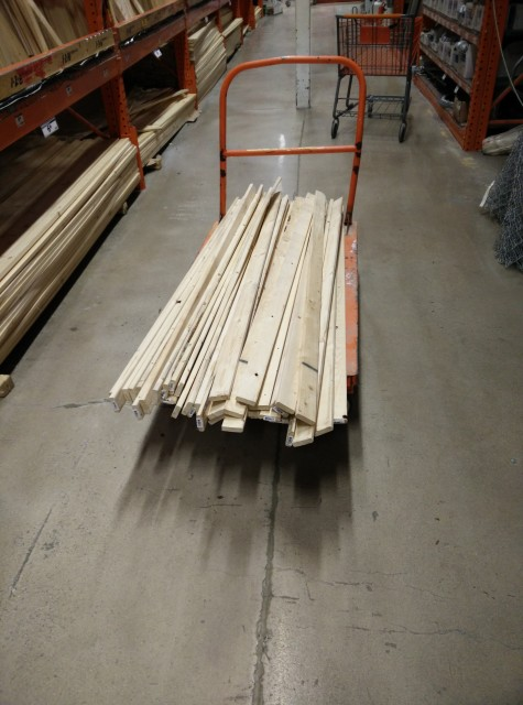 Flatbed of Lumber