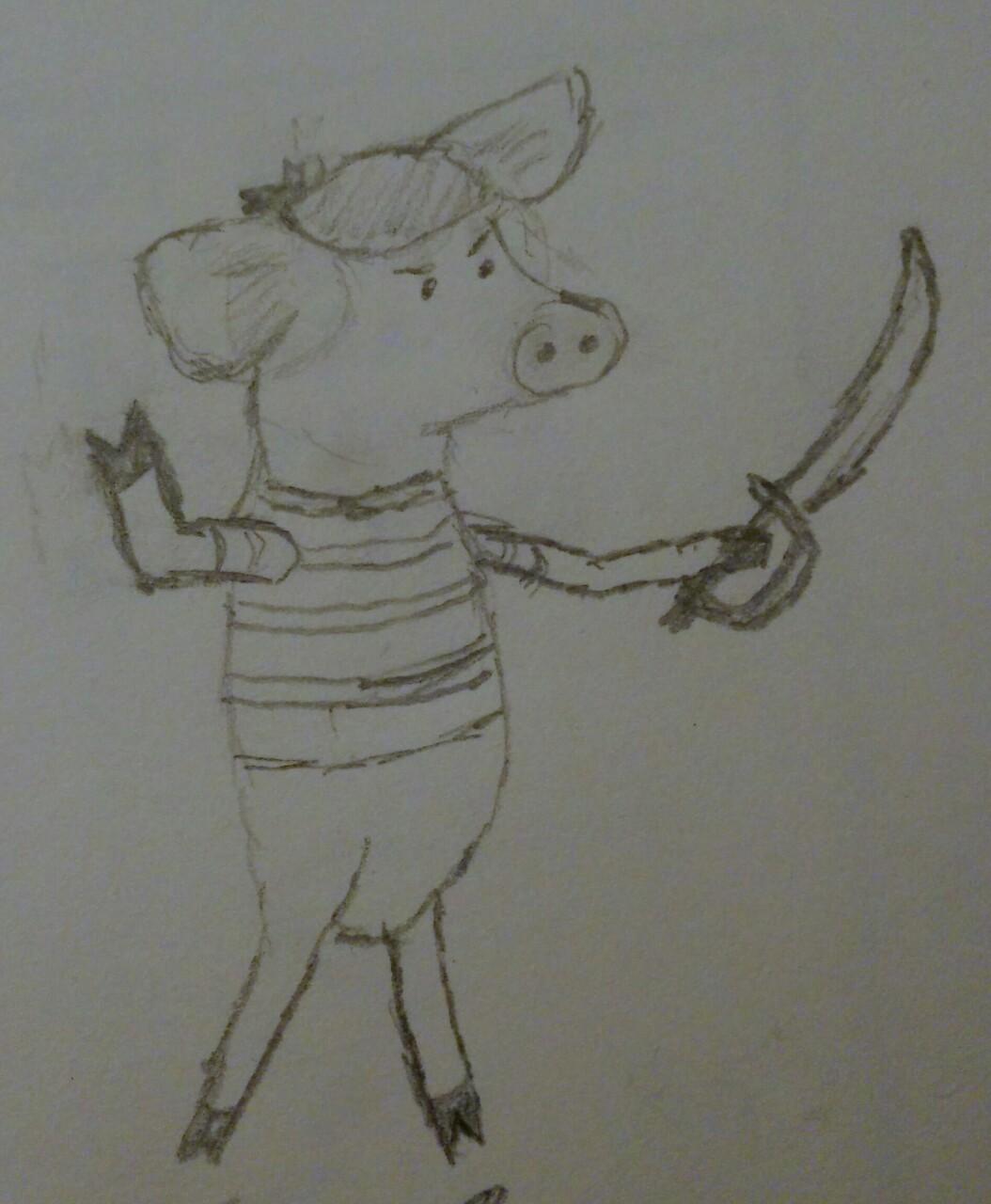 Pirate Pig First Mate
