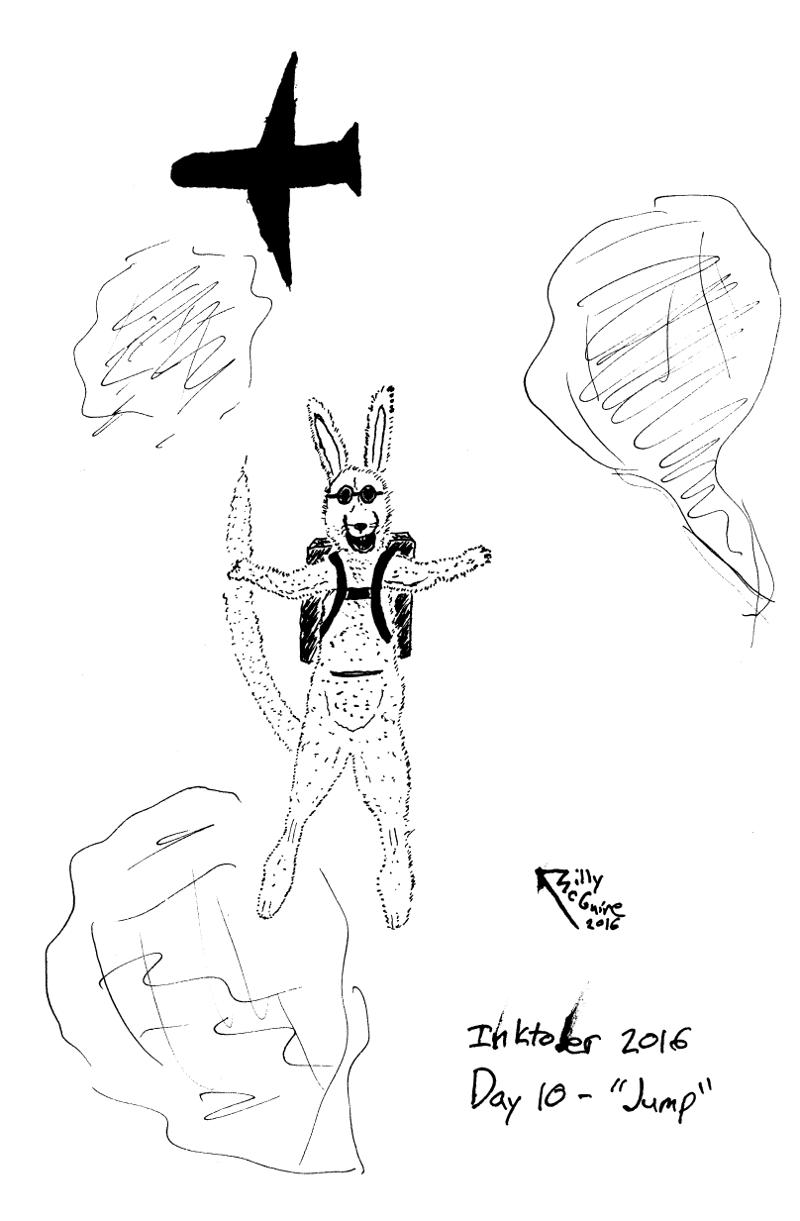 Skydiving Kangaroo